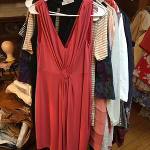 Philosophy Di Alberta Ferretti Dress Salmon Pink